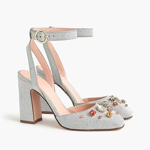 NEW J. Crew Harlow Ankle-Strap Pumps